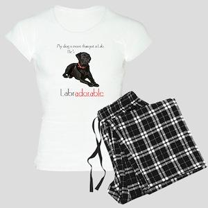 He's Labradorable Women's Light Pajamas