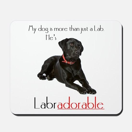 He's Labradorable Mousepad