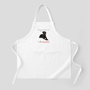 He's Labradorable BBQ Apron