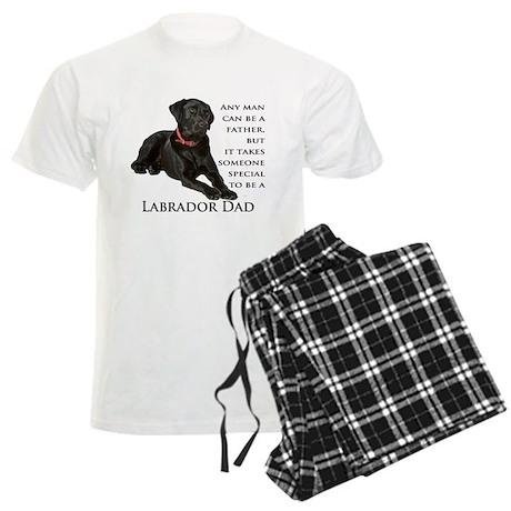 Black Lab Dad Men's Light Pajamas