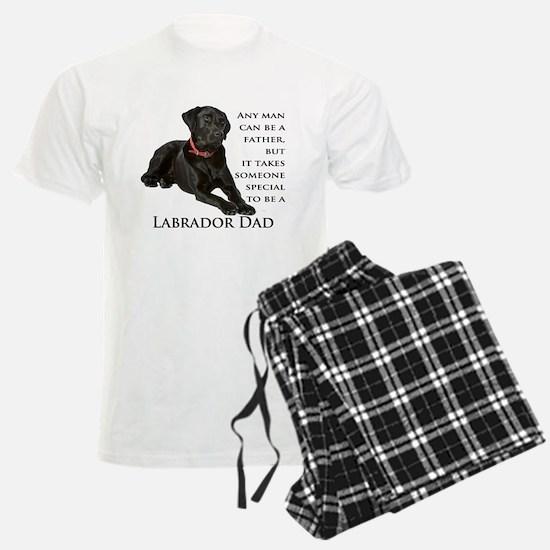 Black Lab Dad Pajamas