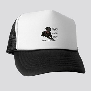 Black Lab Dad Trucker Hat
