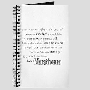 I Am a Marathoner Journal