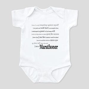 I Am a Marathoner Infant Creeper