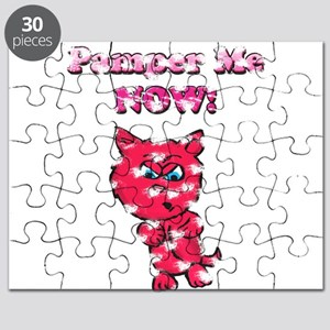 Vintage Pamper Me Now Kitty Puzzle
