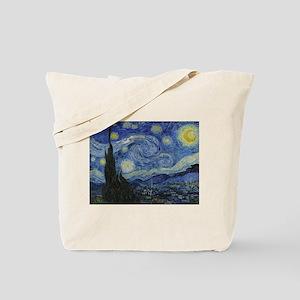 Starry Trekkie Night Tote Bag