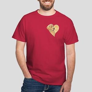 heart of gold Dark T-Shirt