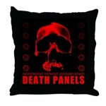 Death Panels Throw Pillow