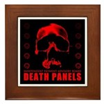Death Panels Framed Tile