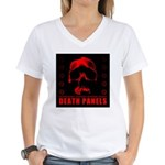Death Panels Women's V-Neck T-Shirt