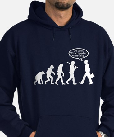 Funny - Evolution FAIL! Hoodie (dark)