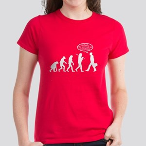 Funny - Evolution FAIL! Women's Dark T-Shirt