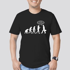 Funny - Evolution FAIL! Men's Fitted T-Shirt (dark