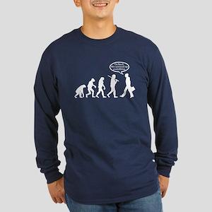 Funny - Evolution FAIL! Long Sleeve Dark T-Shirt