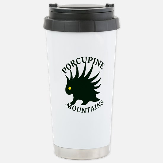 Porcupine Mountains Stainless Steel Travel Mug