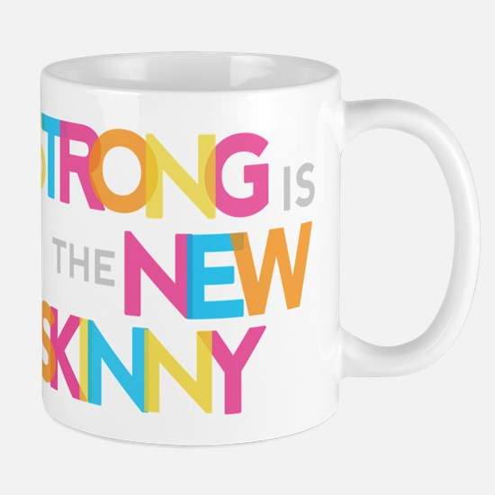 Strong is the New Skinny - Color Merge Mug