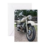 Vintage Motorcycle Greeting Cards (Pk of 20)