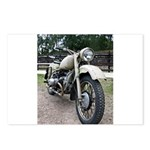 Vintage Motorcycle Postcards (Package of 8)