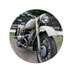 "Vintage Motorcycle 3.5"" Button"