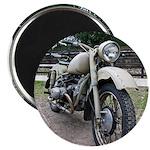 Vintage Motorcycle Magnet