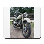 Vintage Motorcycle Mousepad