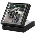 Vintage Motorcycle Keepsake Box