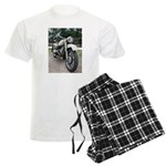Vintage Motorcycle Men's Light Pajamas