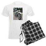 Vintage Motorcycle Men's Light Pajamas