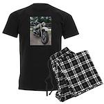 Vintage Motorcycle Men's Dark Pajamas