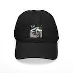Vintage Motorcycle Black Cap