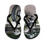 Vintage Motorcycle Flip Flops