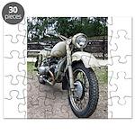 Vintage Motorcycle Puzzle