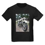 Vintage Motorcycle Kids Dark T-Shirt