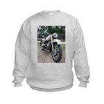 Vintage Motorcycle Kids Sweatshirt