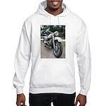 Vintage Motorcycle Hooded Sweatshirt