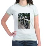 Vintage Motorcycle Jr. Ringer T-Shirt