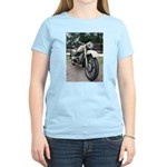 Vintage Motorcycle Women's Light T-Shirt