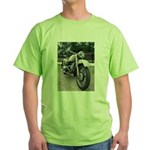 Vintage Motorcycle Green T-Shirt