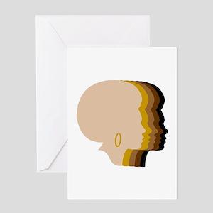Zuri Silhouettes Greeting Card