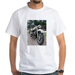 Vintage Motorcycle White T-Shirt