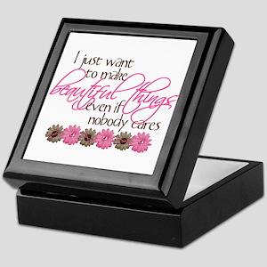 Make Beautiful Things Keepsake Box
