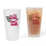 Hooters 2 Drinking Glass
