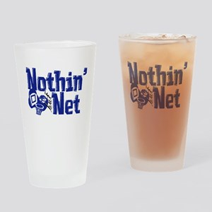 Nothin But Net Drinking Glass