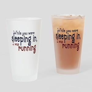 Sleeping in Drinking Glass
