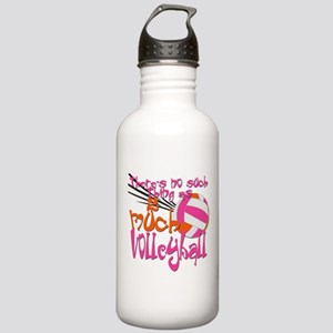 2 much Volleyball Stainless Water Bottle 1.0L