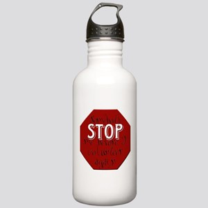 Stop Volunteer Stainless Water Bottle 1.0L