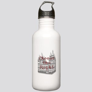 Temple Choose the Right Stainless Water Bottle 1.0