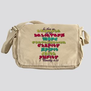Example 1 blues Messenger Bag