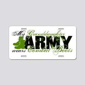 Granddaughter Combat Boots - ARMY Aluminum License