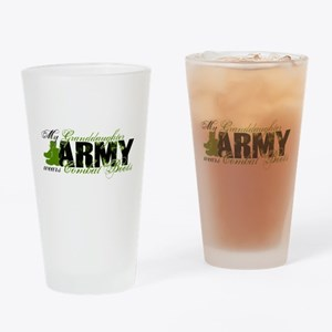Granddaughter Combat Boots - ARMY Drinking Glass